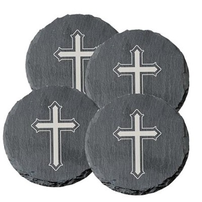 Cross coaster, set of 4   -
