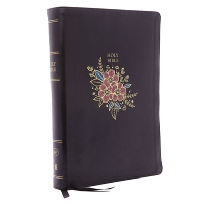 KJV Deluxe Reference Bible Super Giant Print, Black  TPdexed                 -