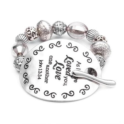 As I Have Loved, Words To Live By Bracelet  -