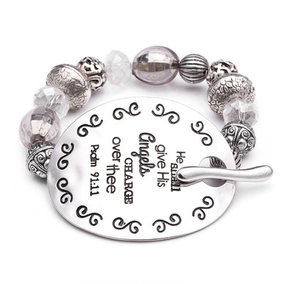 Psalm 91, Words To Live By Bracelet  -