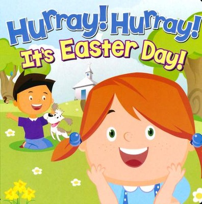 Hurry! Hurry! It's Easter Day, Board Book  -
