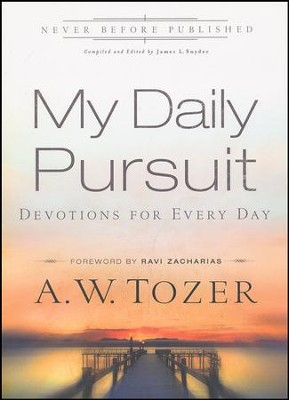 My Daily Pursuit: Devotions for Every Day  -     By: A.W. Tozer