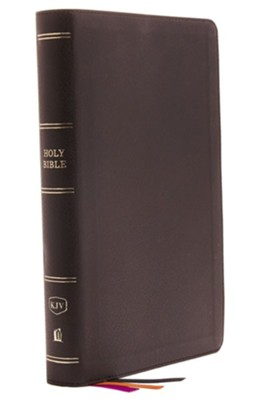 KJV Minister's Bible--imitation leather, black (red letter edition)  -     By: Thomas Nelson