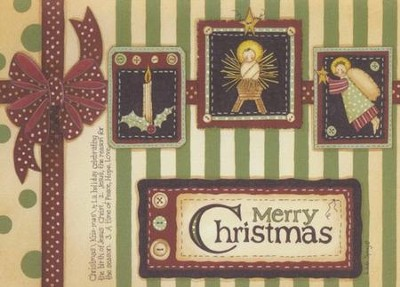 Wrapped In Christmas (Psalm 129:8, NIV), 20 Count Boxed Christmas Cards  -