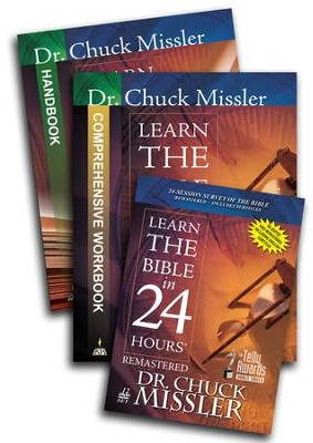 Learn the Bible in 24 Hours Study set  -     By: Chuck Missler