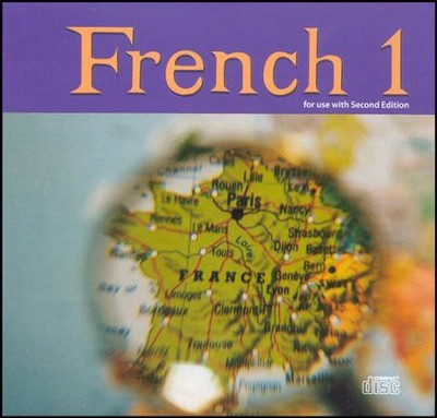 BJU French 1 Audio CD's Set, Second Edition    -