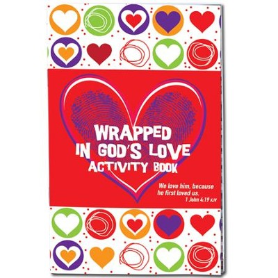 Wrapped in God's Love Activity Book  -