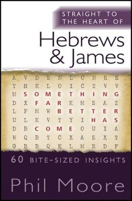 Straight to the Heart of Hebrews and James: 60 Bite-Sized Insights  -     By: Phil Moore