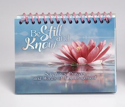 Be Still and Know Flip Book  -