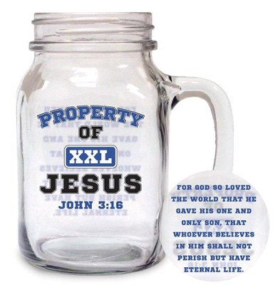 Property of Jesus Glass  -