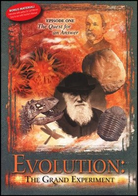 Evolution: The Grand Experiment, Episode 1 DVD   -