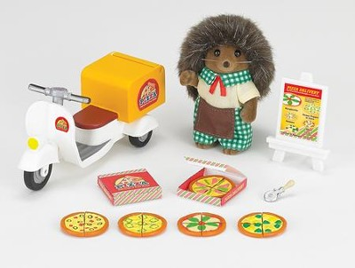 Calico Critters Pizza Delivery Set  -