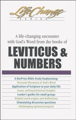 Leviticus & Numbers, LifeChange Bible Study   -     By: The Navigators