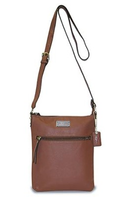 Hope, Crossbody Purse, Brown  -