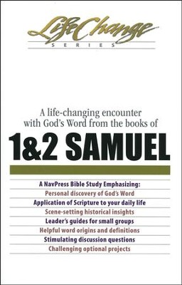 1 & 2 Samuel, LifeChange Bible Study   -