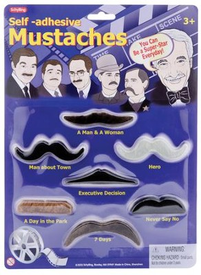 Dress Up Mustaches  -