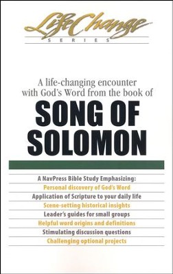 Song of Solomon, LifeChange Bible Study   -