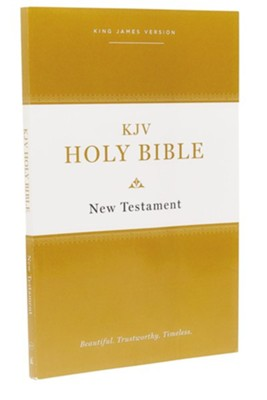 KJV Holy Bible New Testament--softcover, multicolor  -     By: Thomas Nelson