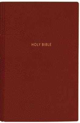 NKJV Comfort Print Deluxe Reference Bible, Super Giant Print, Imitation Leather, Red  -