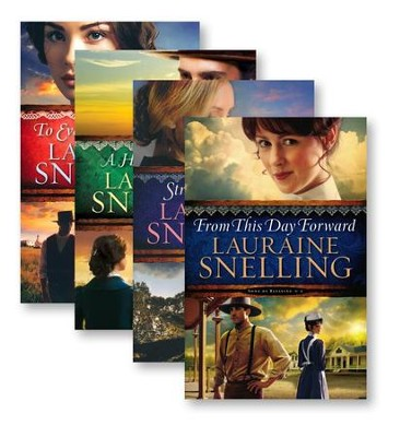 Song of Blessing Series, Volumes 1-4  -     By: Lauraine Snelling