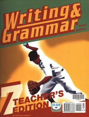BJU Writing & Grammar Grade 7, Teacher's Edition    -