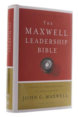 NKJV Comfort Print Maxwell Leadership Bible, Third Edition, Hardcover  -     By: John Maxwell