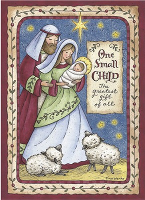 One Small Child (James 1:17, KJV), 20 Count Boxed Christmas Cards  -