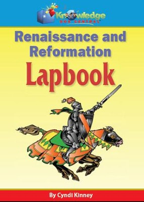 Renaissance & Reformation Lapbook - PDF Download  [Download] -     By: Cyndi Kinney