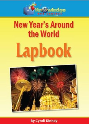 New Years Around the World Lapbook - PDF Download  [Download] -     By: Cyndi Kinney