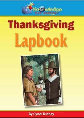 Thanksgiving Lapbook - PDF Download  [Download] -     By: Cyndi Kinney