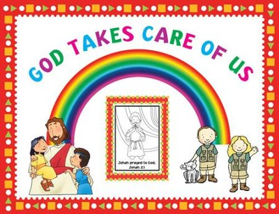 Instant Bulletin Board - God Takes Care of Us - PDF Download  [Download] -     By: Legacy Press