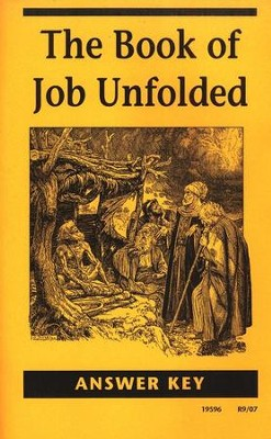 The Book of Job Unfolded Answer Key, Grade 12       -     By: Homeschool