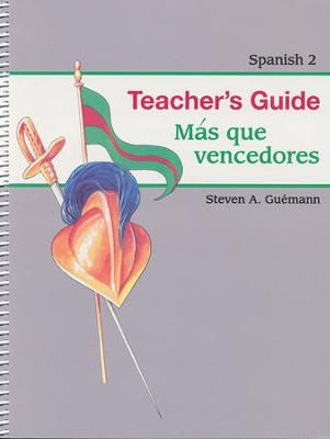 Abeka Mas que vencedores Spanish Year 2 Teacher Guide   -