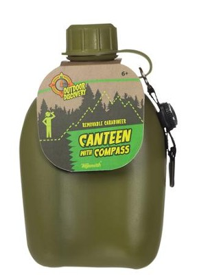 Canteen With Compass  -