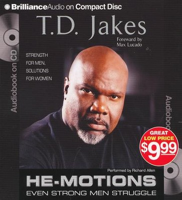 He-Motions, Abridged Audio CD   -     By: T.D. Jakes