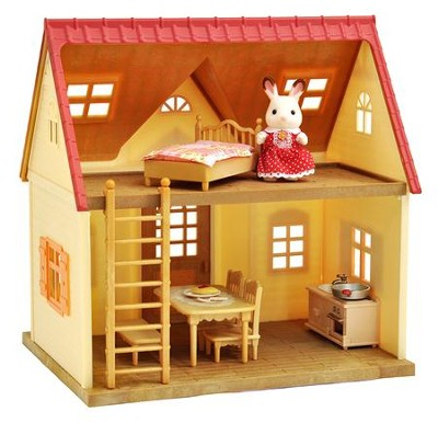 Calico Critters, Cozy Cottage Starter Home  -