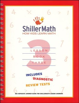ShillerMath Lesson Book 3   -