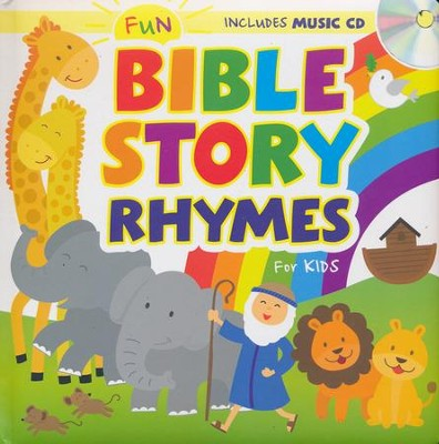 Fun Bible Story Rhymes for Kids with CD   -     By: Karen Mitzo Hilderbrand, Kim Mitzo Thompson