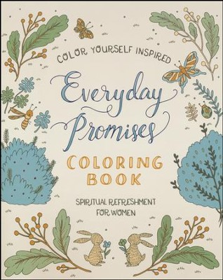 Everyday Promises Coloring Book   -     By: Compiled by Barbour Staff