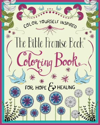 The Bible Promise Book Coloring Book: For Hope & Healing    -