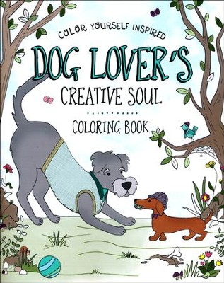Dog Lover's Creative Soul Coloring Book  -     By: Compiled by Barbour Staff