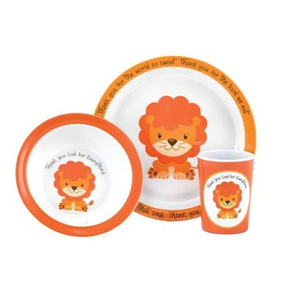 Thank You God for Everything, Lion, Dish Set  -