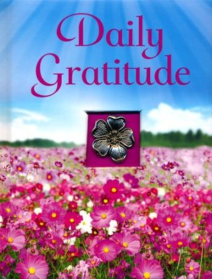 Daily Gratitude: Padded Hard Cover with Ornament and Ribbon  -