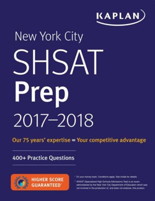 New York City SHSAT 2018-2019  -     By: Kaplan