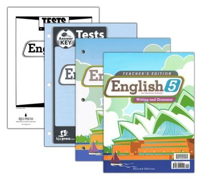BJU English Grade 5, Homeschool Kit (Second Edition)    -
