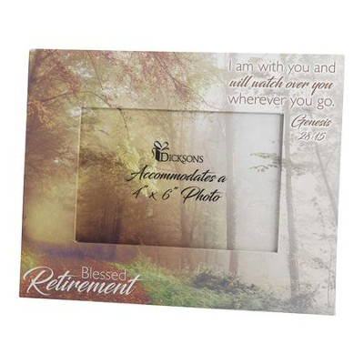Blessed Retirement Photo Frame - Christianbook.com