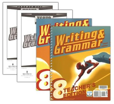 BJU Writing & Grammar Grade 8, Homeschool Kit (Third Edition)    -