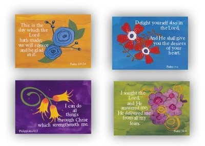 Flowers, Encouragement Cards, Box of 12  -