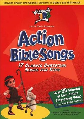 Cedarmont Kids: Action Bible Songs DVD   -     By: Cedarmont Kids