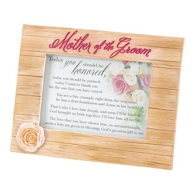 Mother of the Groom Photo Frame  -